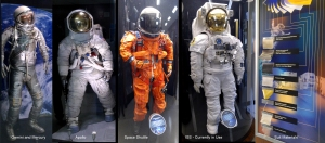The evolution of the space suit - from Mercury and Gemini to today.