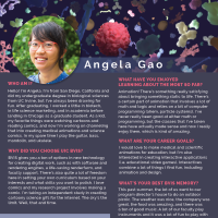 Faces of BVIS: Angela Gao